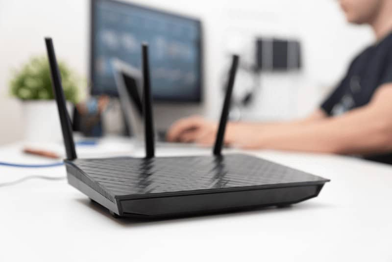 Open your router status