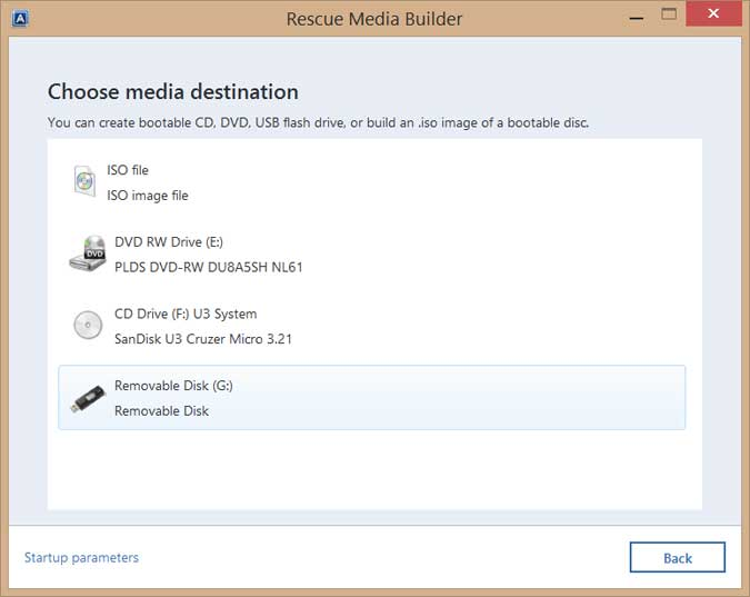 How to Use Acronis True Image to Create a Bootable USB Drive