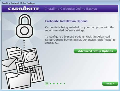 The Carbonite Installation Options