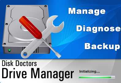 Manage, Diagnose and Backup your Hard Drive with Disk Doctors