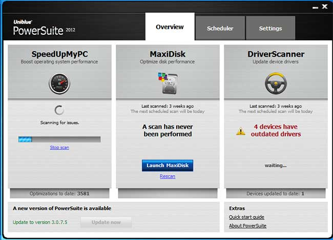 PowerSuite Screenshot