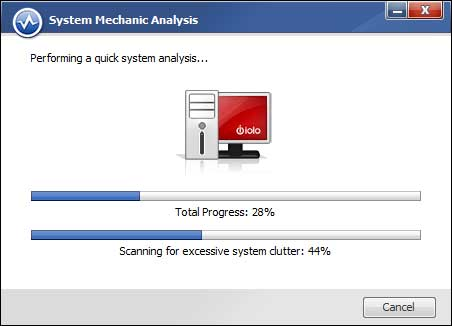 Performing a quick system analysis