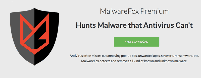 MalwareFox Anti-malware application