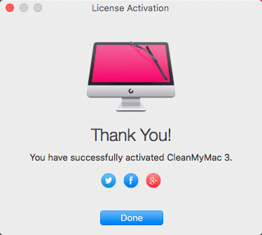 CleanMyMac 3 Activated