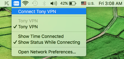 Connect To A VPN In Mac