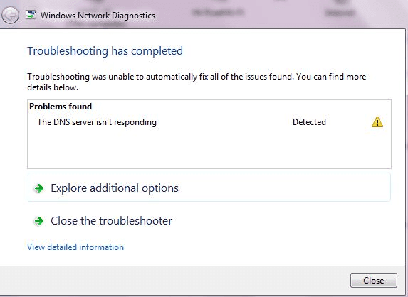 DNS Server Not Responding Error: How To Fix In Windows