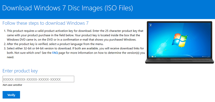 Download Windows 7 ISO File