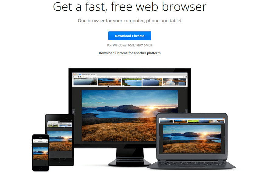 Download Google Chrome 64-bit for Windows, Mac OS X, and Linux
