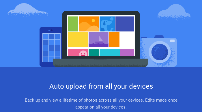 Automatic-Upload Google Photos