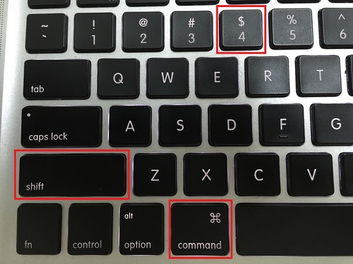 print screen button on apple mac keyboard