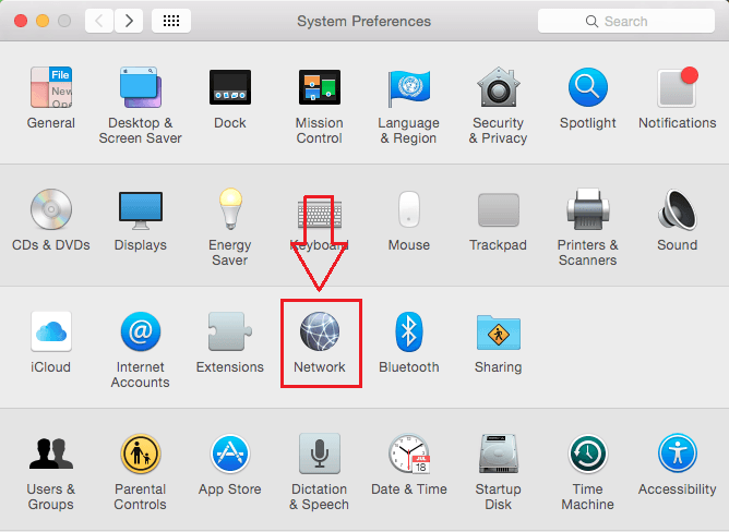 Network In Mac OS X
