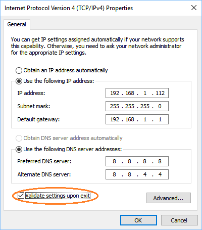 how to fix ethernet doesnt have a valid ip configuration