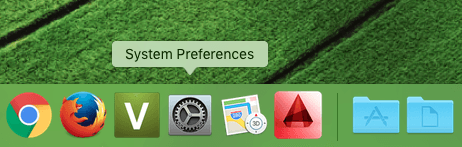 System Preferences In Mac OS X