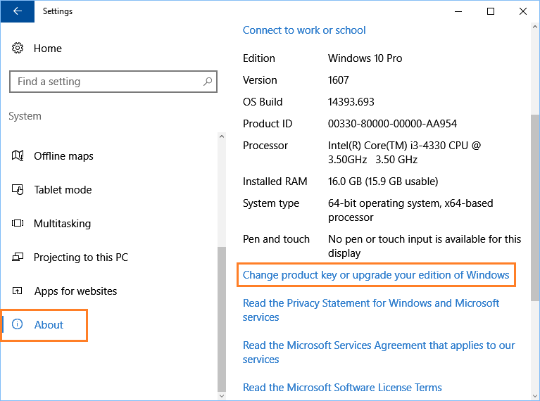 windows 10 64 bit home edition product key