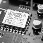 a wifi chip in a computer